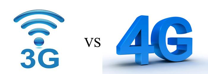 Основные отличия 3g от 4g