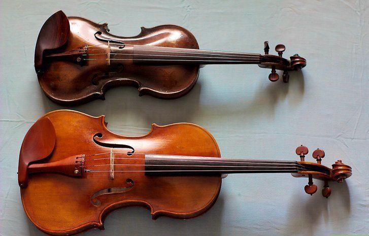 альт и скрипка
